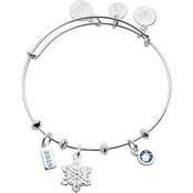 Alex and Ani Snowflake Trio Charm Bangle 2019