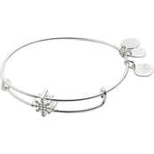 Alex and Ani Pave Star Symbol Bead Bangle