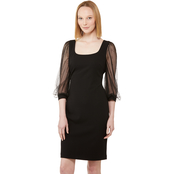 Calvin Klein Illusion Sheath Dress