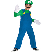 Disguise Ltd. Boys Mario Bros. Luigi Deluxe Costume