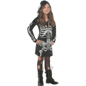 Underwraps Costumes Girls Bones Dress, Large