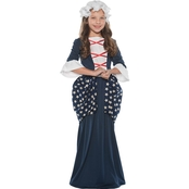 Underwraps Costumes Girls Betsy Ross Costume
