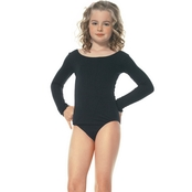 Leg Avenue Child Long Sleeve Opaque Bodysuit