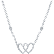Sterling Silver 1/10 CTW Diamond 16 in. Necklace