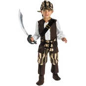 Disguise Ltd. Child Rogue Pirate Costume 4-6