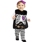 Fun World Infant Skelly Belly Costume