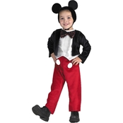 Disguise Ltd. Toddler Mickey Mouse Deluxe Costume 3T-4T