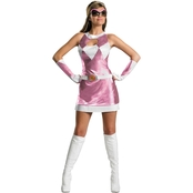 Disguise Ltd. Adult Sassy Pink Ranger Costume 12-14