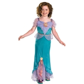 Disguise Ltd. Little Girls Ariel Classic Costume Size 4-6X