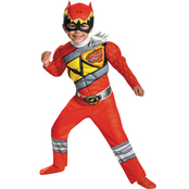 Rubie's Costume Boys Red Ranger Dino Muscle Costume