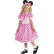 Disguise Ltd. Toddler Clubhouse Minnie Pink Costume 3T-4T