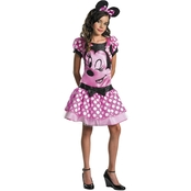Disguise Ltd. Girls Minnie Mouse Costume, Size 10.5-12.5