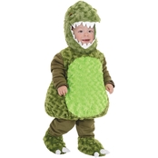 Underwraps Costumes Infant T-Rex Green Costume, 18-24 Months