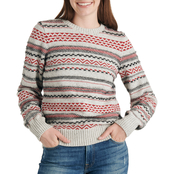 Lucky Brand Striped Fairisle Sweater