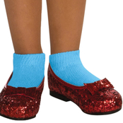 Rubie's Costume Girls Dorothy Sequin Shoes Small 11-12