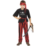 Fun World Child Jolly Roger Pirate Costume
