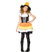 Leg Avenue Girls Kandy Korn Costume Small 4-6