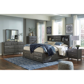 Signature Design by Ashley Caitbrook Storage Bed 5 pc. Set