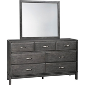 Signature Design by Ashley Caitbrook Dresser and Mirror