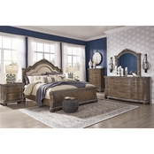 Signature Design by Ashley Charmond Panel Bed 5 pc. Set