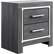 Signature Design by Ashley Lodanna 2 Drawer Nightstand