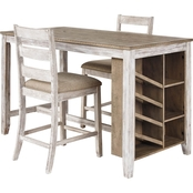 Signature Design by Ashley Skempton 3 pc. Counter Dining Set