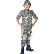 Underwraps Costumes Kids US Army Ranger Costume