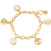 Spartina 449 Pearlescent Charm Toggle Bracelet