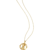 Spartina 449 Goldtone Pineapple Necklace