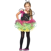 Leg Avenue Little Girls Rainbow Bug Costume, X Small