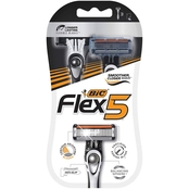 BIC Flex 5 Men's Disposable Razor, 3 ct.