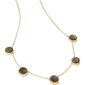 Spartina 449 Goldtone Naia Station Necklace