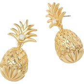 Spartina 449 Goldtone Pineapple Earrings