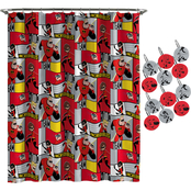 Incredibles Super Family Shower Curtain & Hook Set