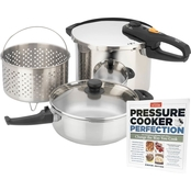 Duo Combi-5 -pc  Pressure Cooker Set