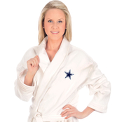 WinCraft NFL Football Adult White Robe