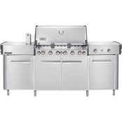 Weber Summit Grill Center Natural Gas