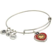 Alex and Ani Wizard of Oz Heart Two Tone Bangle