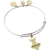 Alex and Ani Wizard of Oz Courage Two Tone Bangle