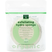 Earth Therapeutics Organic Cotton Exfoliating Round Sponge