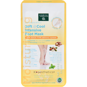 Earth Therapeutics Soft Cool Intensive Foot Mask