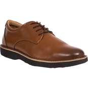 Deer Stags Men's Walkmaster Plain Toe Memory Foam Leather Classic Comfort Oxford