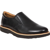 Deer Stags Men's Walkmaster Twin Gore Memory Foam Leather Classic Slip-On Loafer