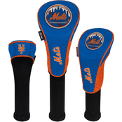 WinCraft MLB Baseball 3 pc. Golf Headcover Set