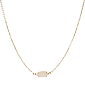 Panacea Compressed Drusy Necklace
