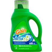Gain Liquid Laundry Detergent AromaBoost, Blissful Breeze, 50 fl oz 32 loads