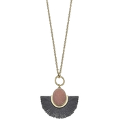 Canvas Marchesa Faux Druzy Adjustable Statement Necklace