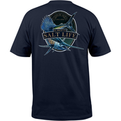 Salt Life Sailfish Brew Pocket Tee