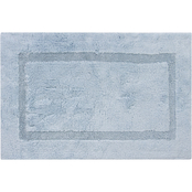 Egyptian Cotton Inset Border Bath Rug