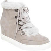 Madden Girl Women's Pulley Wedge Sneakers